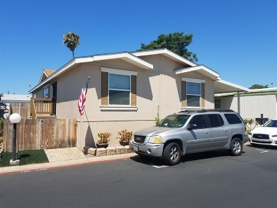 Poway Mobile/Manufactured For Sale: 12824 Granada #322