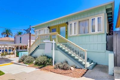 Ocean Beach Multi Family 2-4 For Sale: 1665/1667 Bacon St.