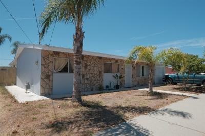 Oceanside Single Family Home For Sale: 4171 Jonathon Street