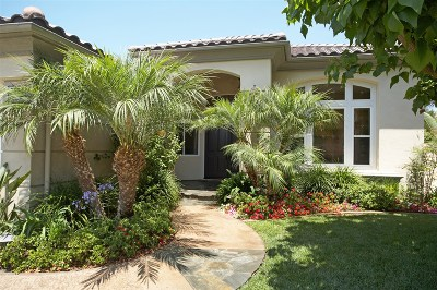 Carlsbad Single Family Home For Sale: 7424 Melodia Terrace