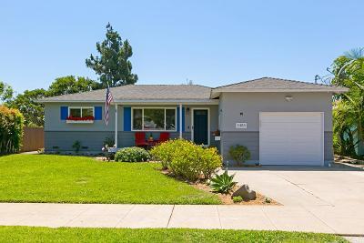 Oceanside Single Family Home For Sale: 1453 Stewart St.