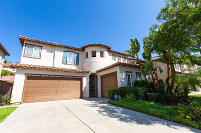 Chula Vista Single Family Home For Sale: 2453 Ponte Vedra