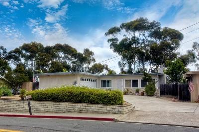 Oceanside Single Family Home For Sale: 585 Hoover St