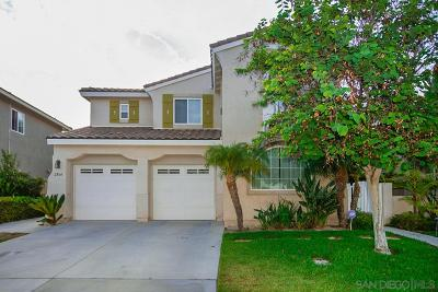 Chula Vista Single Family Home For Sale: 2864 Red Rock Canyon Rd