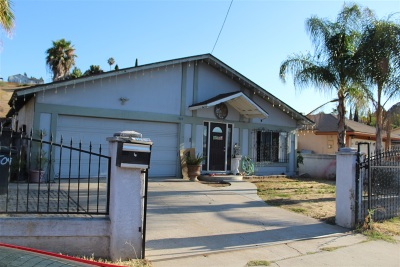 San Diego Single Family Home For Sale: 7509 Black Oak Rd