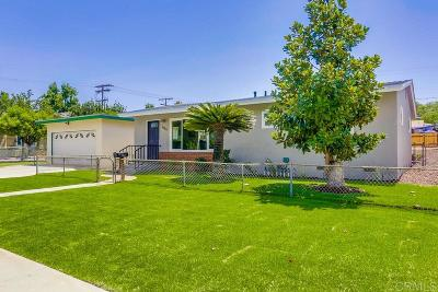 Escondido Single Family Home For Sale: 1151 E 3rd Ave