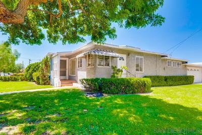 Chula Vista Single Family Home For Sale: 229 I St