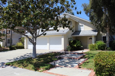 Oceanside Single Family Home For Sale: 4572 Mariners Bay