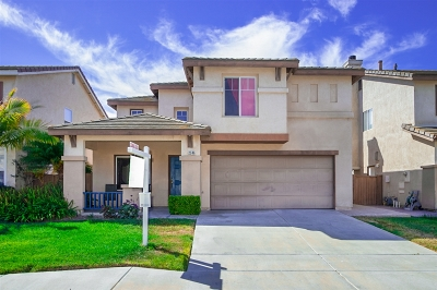 Chula Vista Single Family Home For Sale: 2346 Peacock Valley Rd