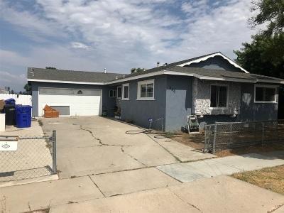 San Diego Single Family Home Contingent: 249 Ridgecrest Dr