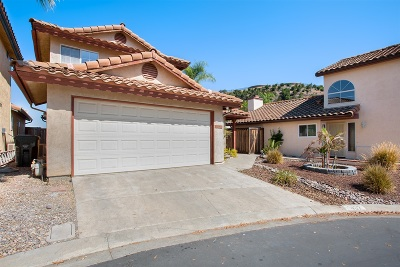Escondido Single Family Home For Sale: 1437 Rosada Gln