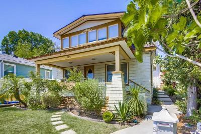 La Mesa Multi Family 2-4 For Sale: 4525 Alta Lane