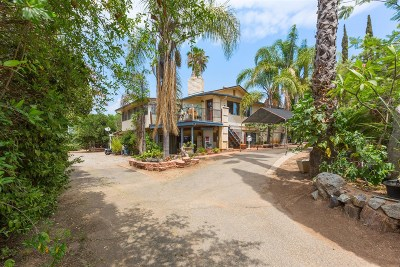 Valley Center Single Family Home For Sale: 30130 Miller Rd