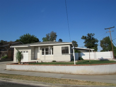 La Mesa Single Family Home For Sale: 6090 Amarillo Ave.