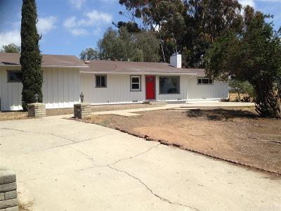 San Diego County Single Family Home For Sale: 3906 Avenida San Miguel