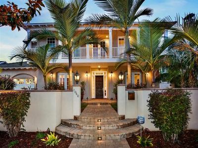 Coronado Single Family Home For Sale: 1040 Coronado Ave.