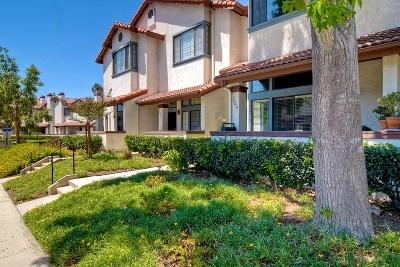 Townhouse For Sale: 7944 Mission Vista Drive