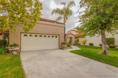 Escondido Single Family Home For Sale: 3722 Orchid Glen