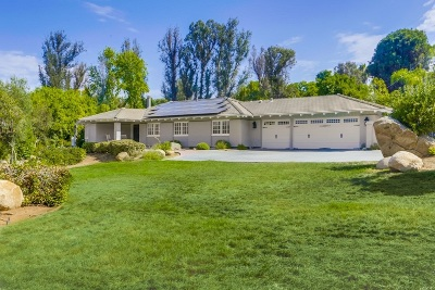 Single Family Home For Sale: 13350 Stone Canyon Road