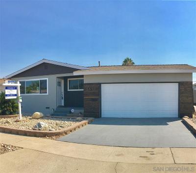Single Family Home For Sale: 3571 Apollo St