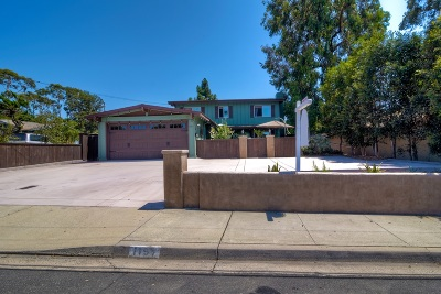 Carlsbad Single Family Home For Sale: 1197 Chestnut Ave