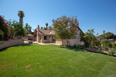 Escondido Single Family Home For Sale: 1238 Valencia Dr