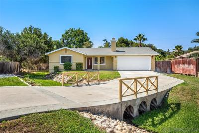 Single Family Home For Sale: 10491 Del Rio Rd