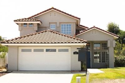 Escondido Single Family Home For Sale: 1253 Ronda Ave