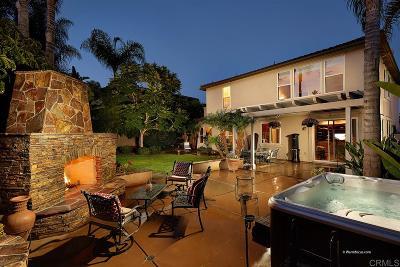 La Costa Valley Single Family Home Sold: 7953 Paseo Membrillo