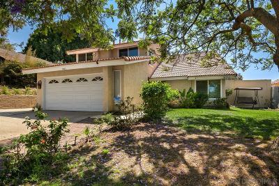Chula Vista Single Family Home For Sale: 991 Calma Drive