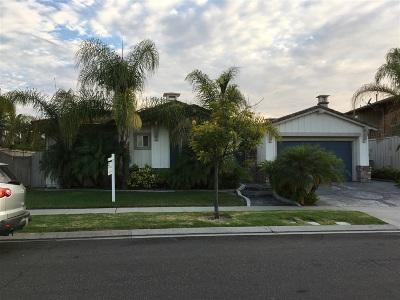 Chula Vista Single Family Home For Sale: 1030 White Alder Ave