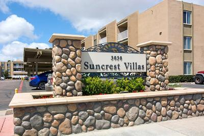 San Diego Attached For Sale: 3030 Suncrest Dr #214