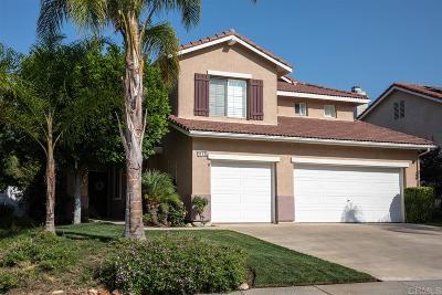 Escondido Single Family Home For Sale: 3112 Amberwood Ln
