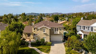 La Costa Valley Single Family Home Sold: 2952 Camino Serbal