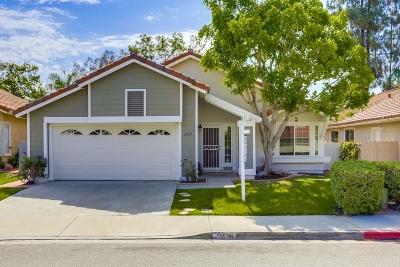 Escondido Single Family Home For Sale: 2040 Shadetree
