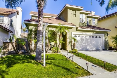 Chula Vista Single Family Home For Sale: 1363 Sutter Buttes
