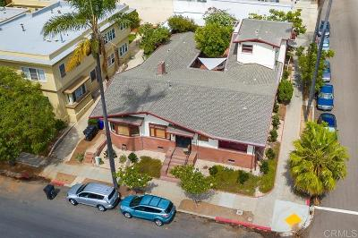 San Diego Multi Family 2-4 For Sale: 110 Maple St