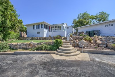 Vista Single Family Home For Sale: 1422 Sunrise Drive
