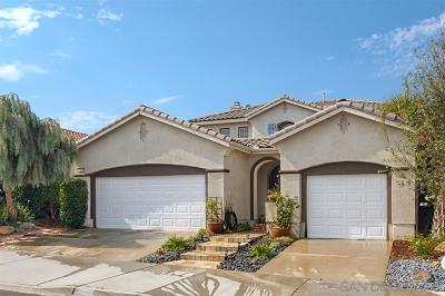 San Marcos Single Family Home For Sale: 1658 Sagewood Way