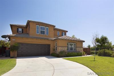 Escondido Single Family Home For Sale: 2755 Morning Walk Court