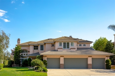 Escondido Single Family Home For Sale: 475 Camino Bailen