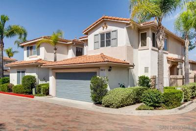 San Diego Single Family Home For Sale: 11681 Compass Point Dr #2