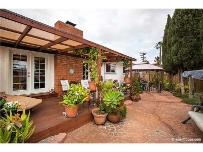 Clairemont Rental For Rent: 5045 Mount La Platta Dr