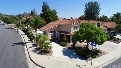 Murrieta Single Family Home For Sale: 26853 Valensole Ct
