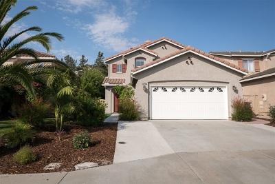 San Marcos Single Family Home For Sale: 1290 Avenida Fragata