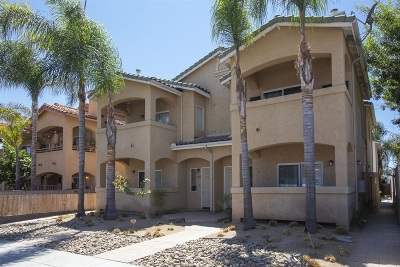 San Diego Townhouse For Sale: 4478 Kansas St