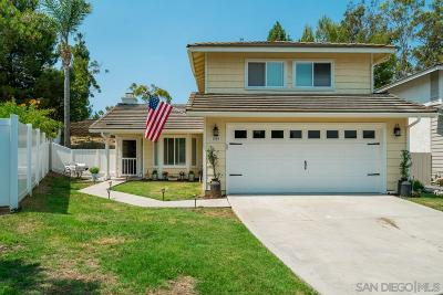 Vista Single Family Home For Sale: 1989 Longfellow Rd