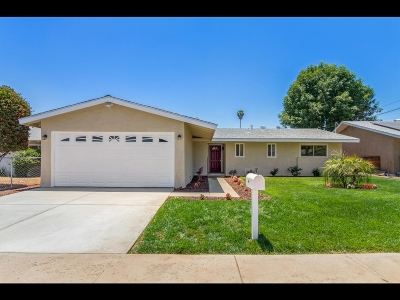 Escondido Single Family Home For Sale: 939 Erica St