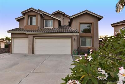 Vista Single Family Home For Sale: 614 Cabezon Pl