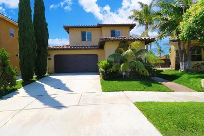 Chula Vista Single Family Home For Sale: 2356 Treehouse Street